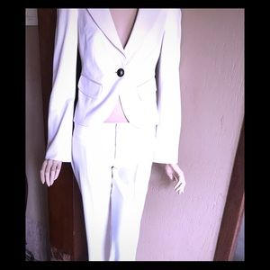 Bebe two piece Ivory suit